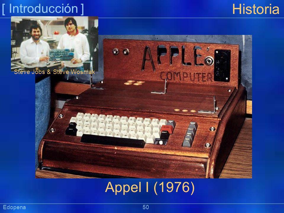 Historia Appel I (1976) [ Introducción ] Steve Jobs & Steve Wosniak